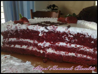 Resepi Red Velvet CakeResepi Red Velvet Cake