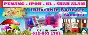 Sand Art & Inflatable Bouncer