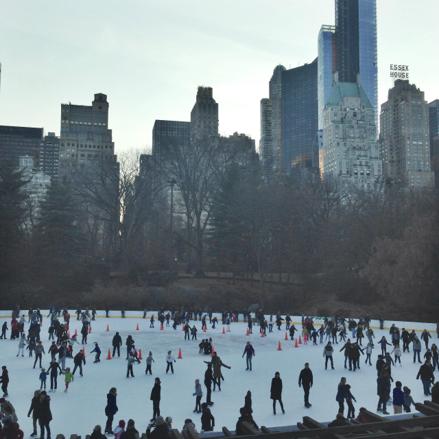 central park ice skating