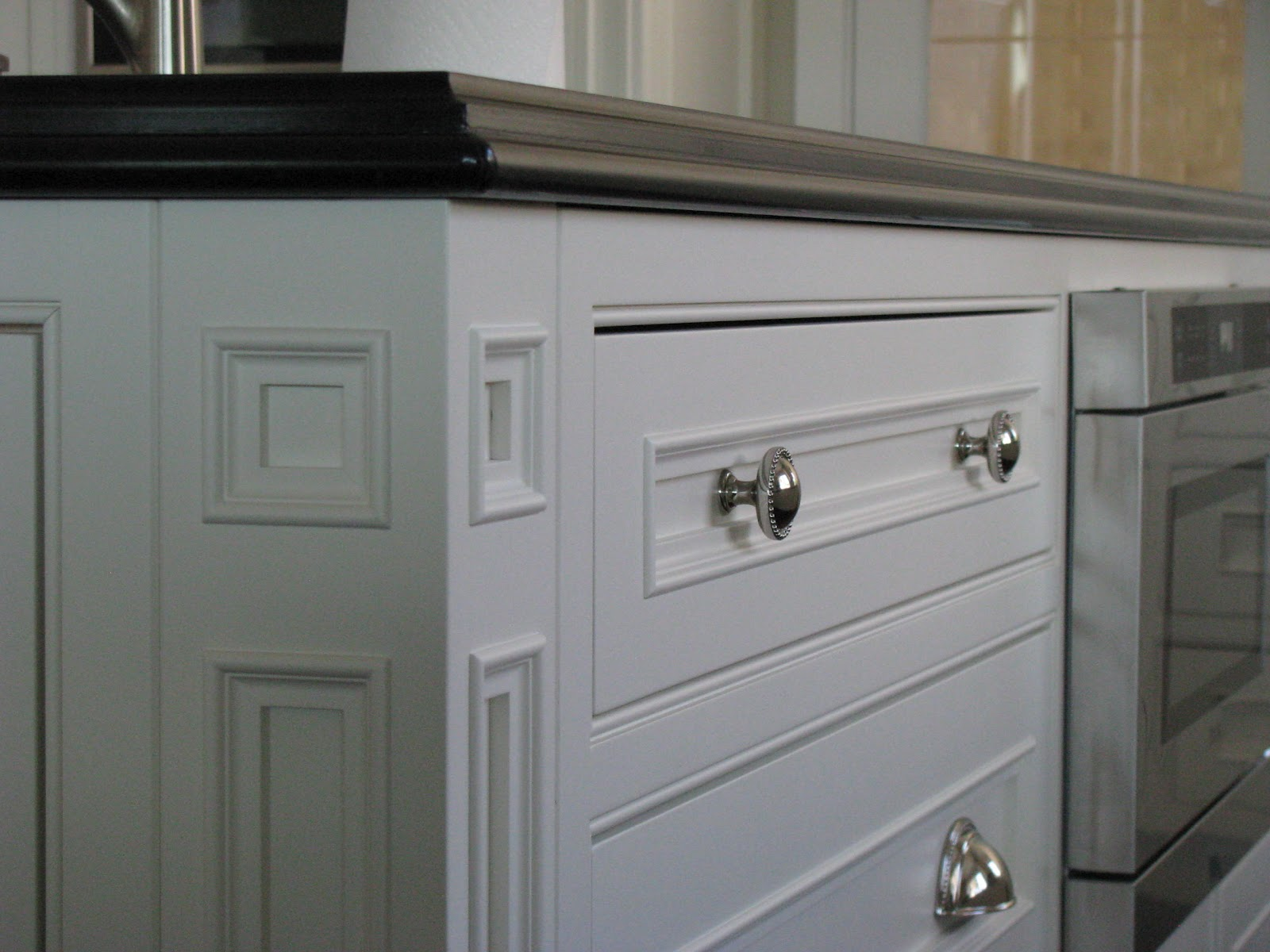 Simply beautiful kitchens the blog beaded inset for Kitchen cabinets doors