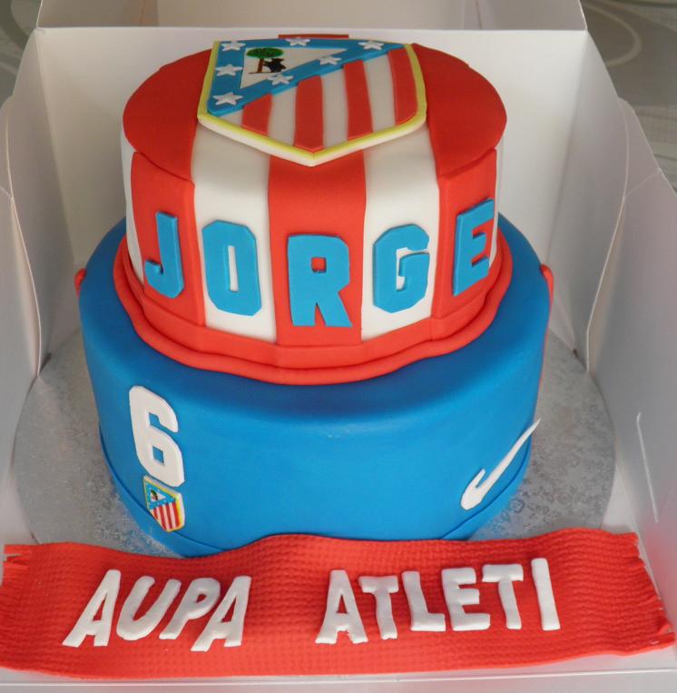 Tarta Cumpleaños Atlético de Madrid