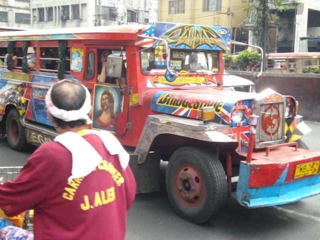 Autobuses en Manila