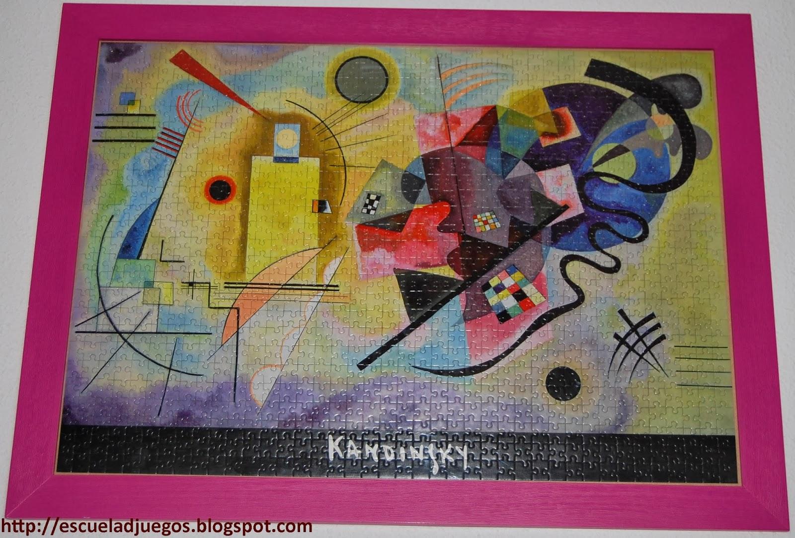 Puzzle de 1000 piezas de Educa sobre este famoso cuadro de Kandinsky