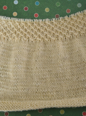 smocked cardigan knit for Christmas gift