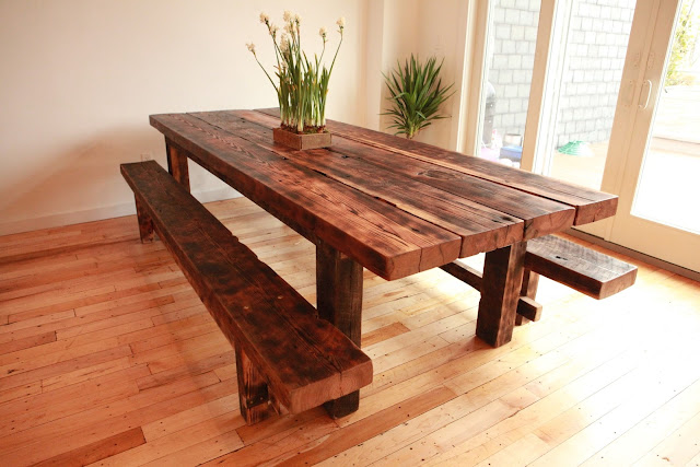 Dining Room Tables with Benches