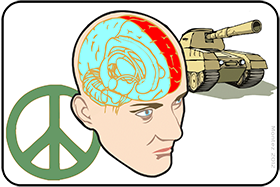 HUMAN BRAIN FACT: War or Peace?