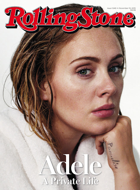 Singer @ Adele by Theo Wenner for Rolling Stone, November 2015