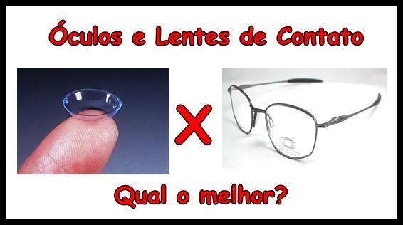 c575c3c2b6aa0 Caso opte pelas lentes, terá que ter higiene redobrada, pois o contato das  mãos com os olhos é inevitável, tendo que mantê-las, assim como as lentes,  ...