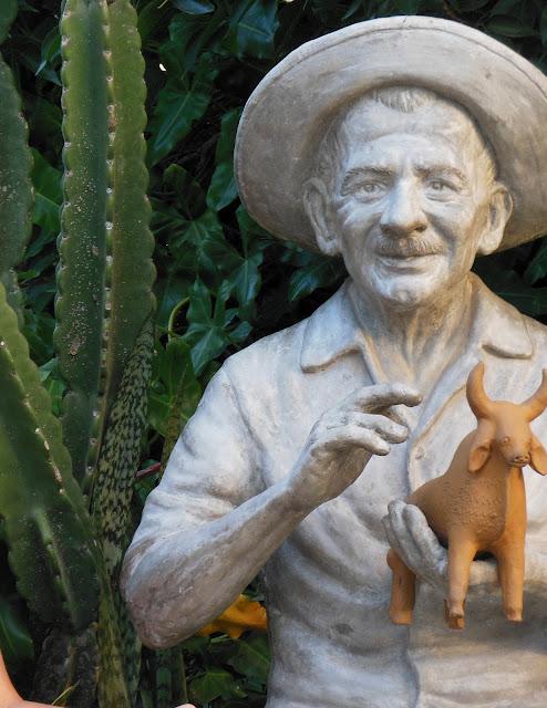 Estátua do mestre Vitalino, Caruaru (PE)/Foto: Marcelo Migliaccio