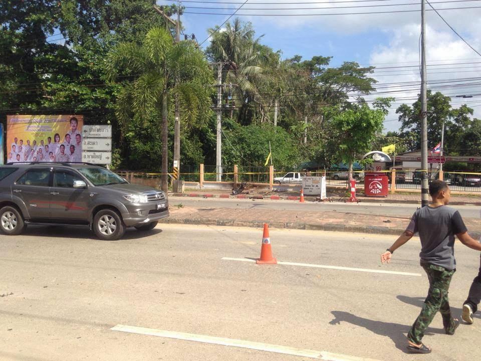 Bom meletup di padang besar Thailand