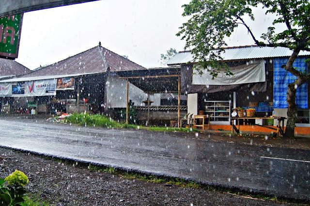 lluvia en Bali