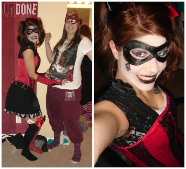 UNDONE: DIY Harley Quinn costume