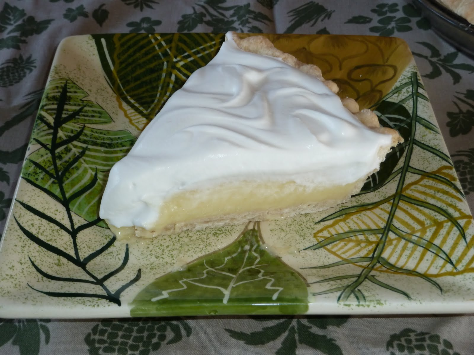 As Easy as Pie: PIE #19 - Rum Vanilla Cream Pie