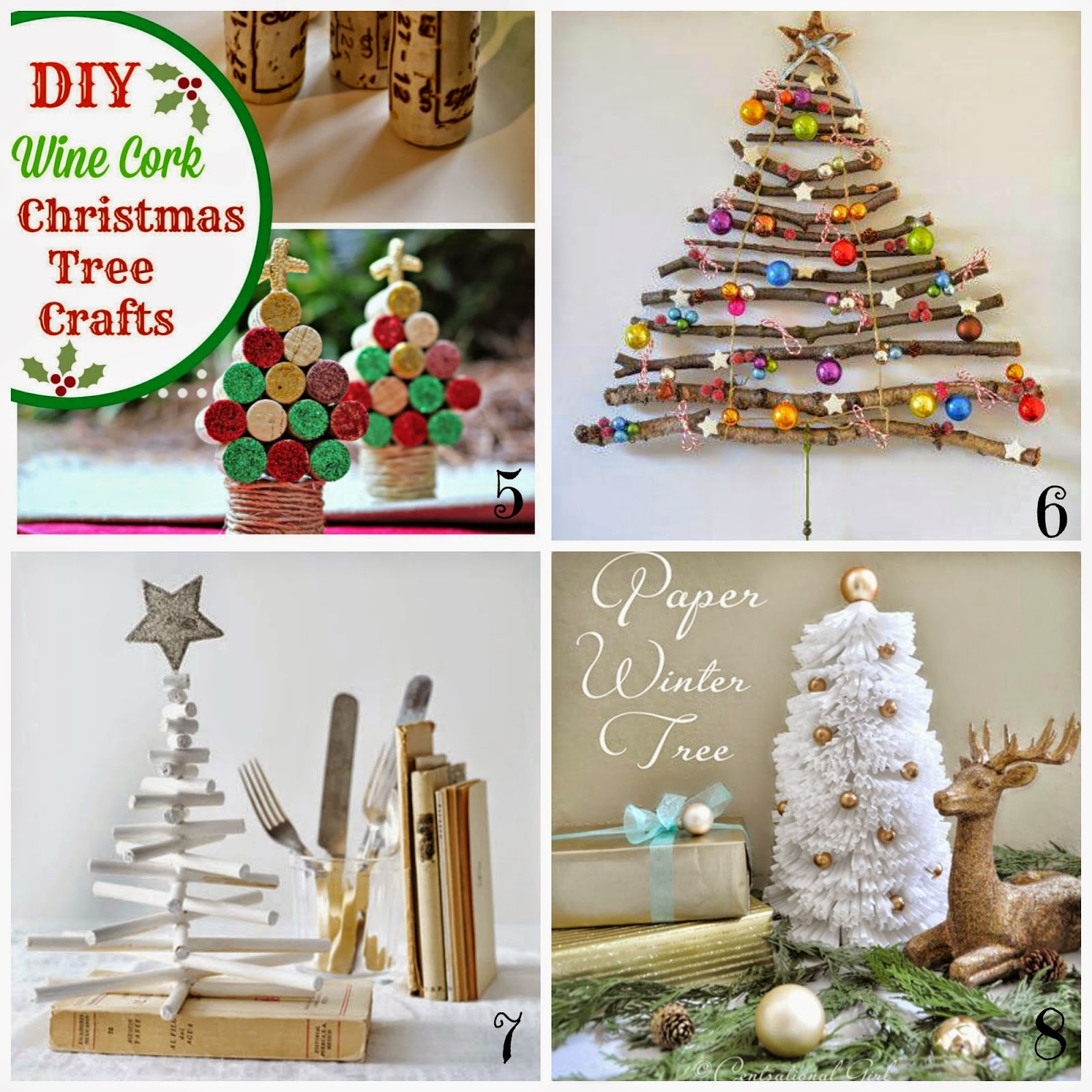 spesso Decorazioni natalizie fai da te - Insoliti alberi di Natale  HS11