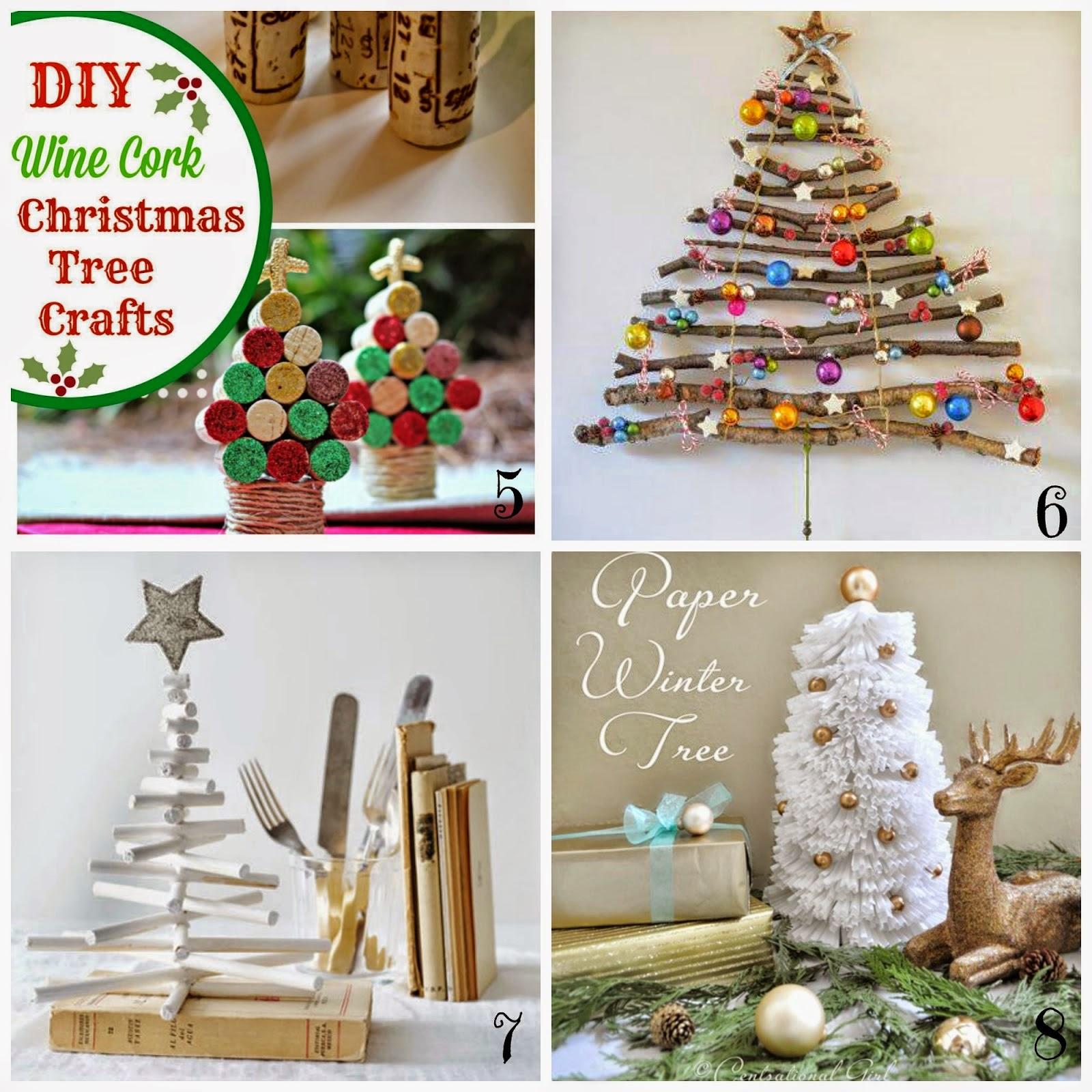 decorazioni natalizie fai da te - insoliti alberi di natale