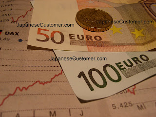 Foreign currency Euro copyright peter hanami 2010