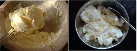how to hand curd for shrikhand recipe