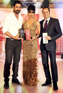 John abraham & Chitranganda  Singh At Times food awards