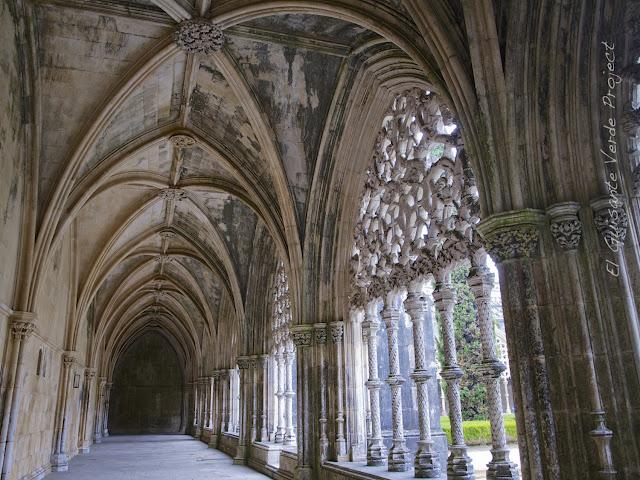 Claustro Real o de Joao I del Monasterio de Batalla - El Guisante Verde Project