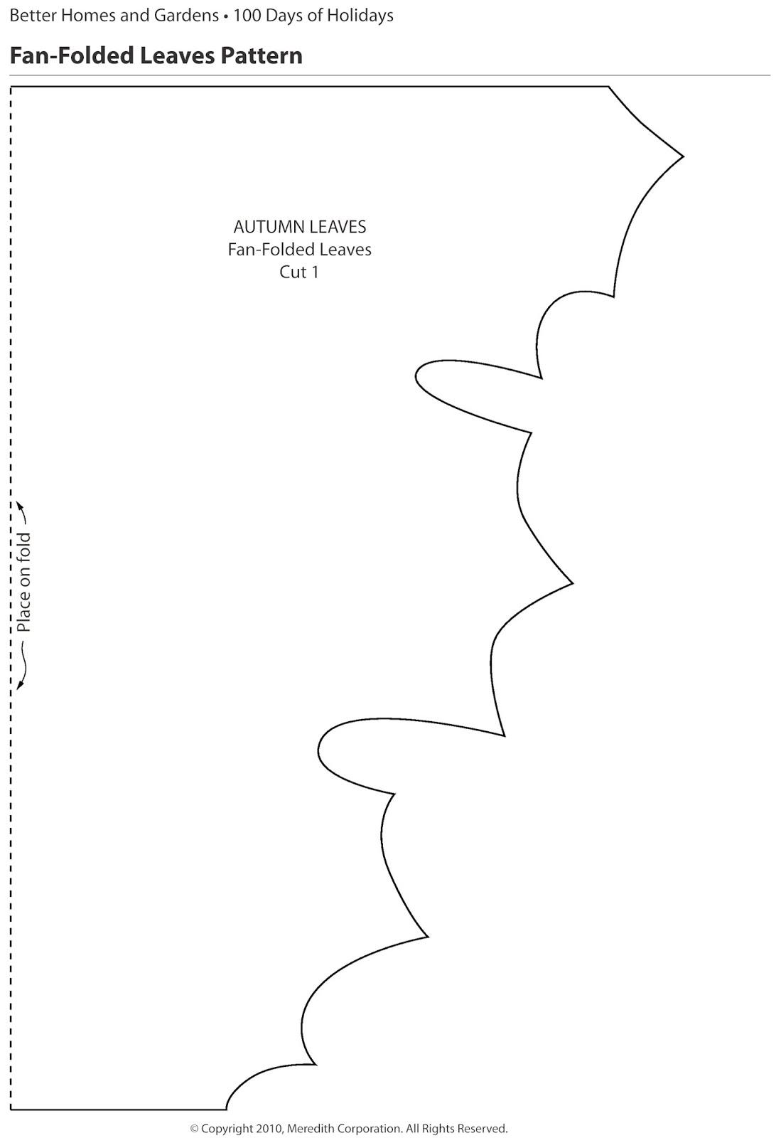 kell belle studio  fan folded leaf tutorial