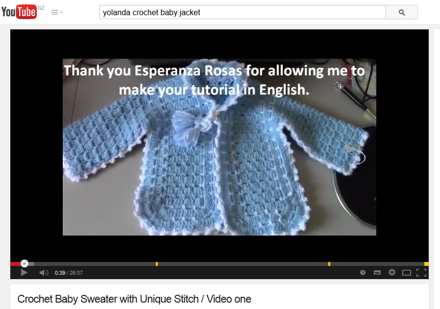 Unique Crochet Stitch Baby Jacket