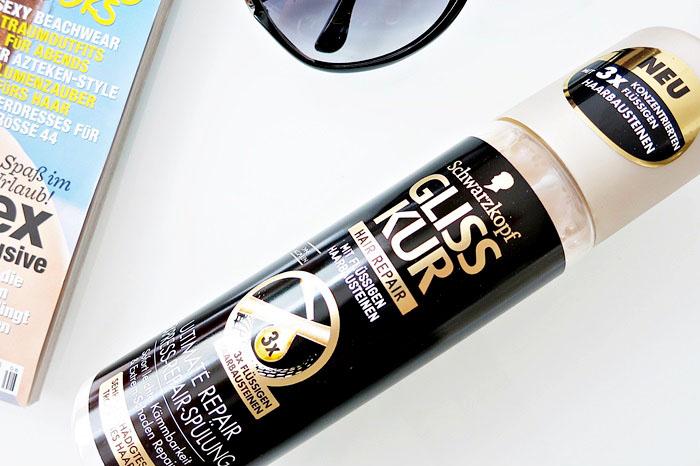 Summer Favorites :: Haarpflegeprodukte Garnier Fructis Schadenlöscher Organix Aragan Oil of Morocco Schwarzkopf Gliss Kur Repair Hair