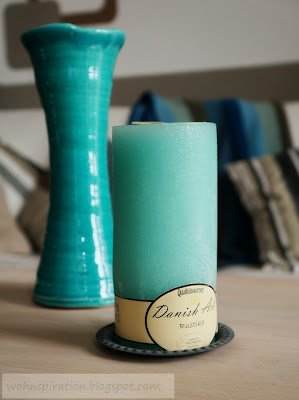 SIA Vase und Danish Art Kerze