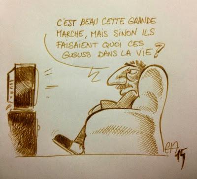Marche Républicaine - Je suis Charlie ©Guillaume Néel