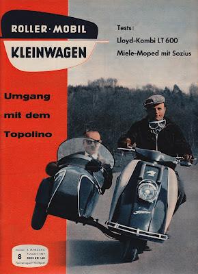 Heinkel 103 A0 with Steib Sidecar