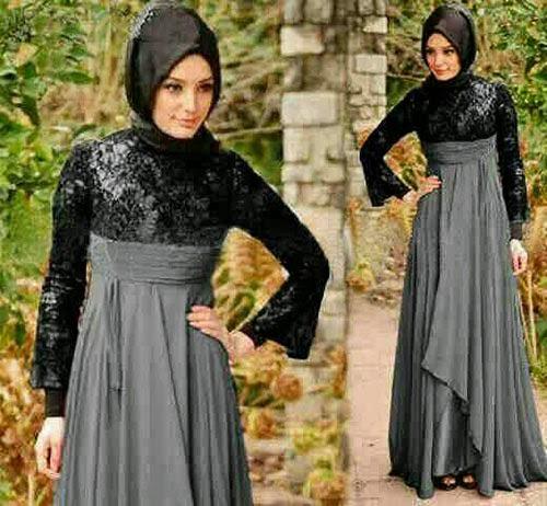 Inilah Trend Model Baju Gamis Lebaran Idul Fitri 2014