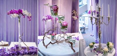 Unique Crystal Wedding Table Decoration