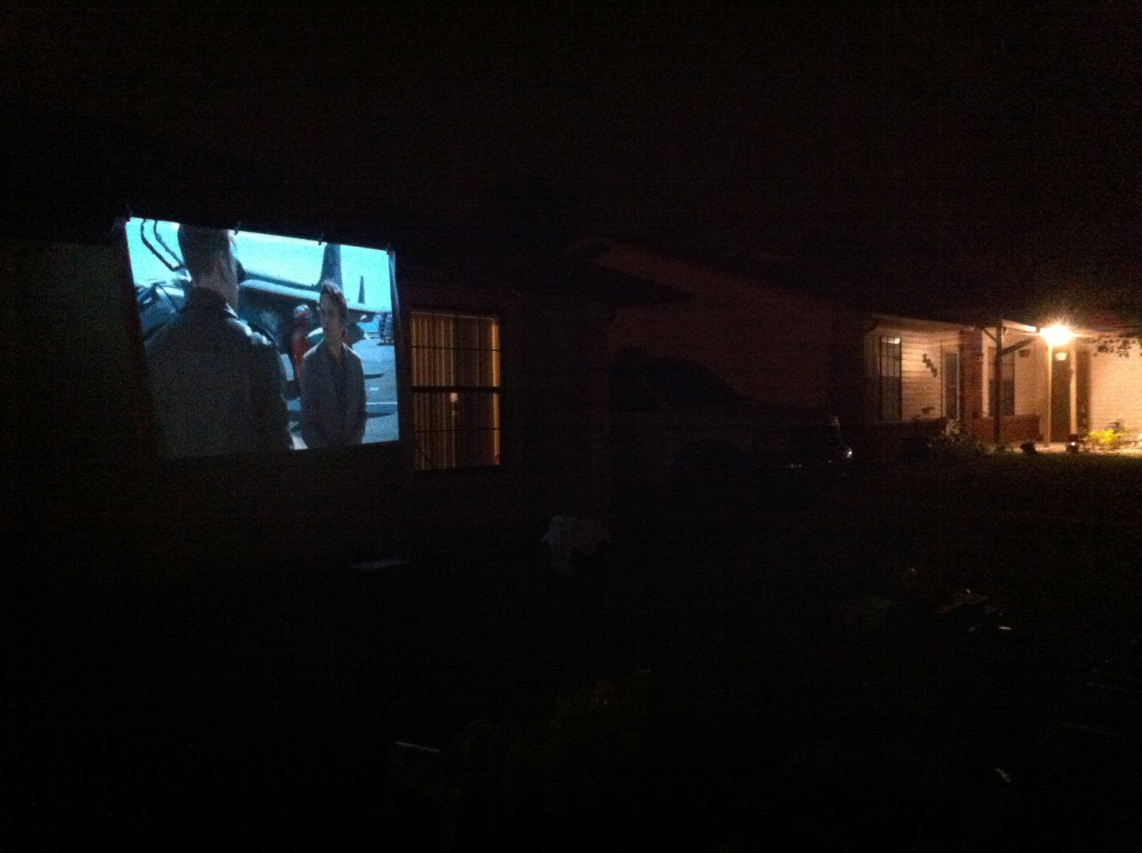 outdoor movie night host your own frugal florida fun