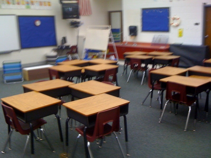 Classroom Workstation Ideas ~ Primarily yours classroom set up and dollar tree find