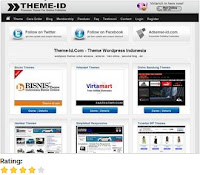 Website Penyedia Template Theme-id