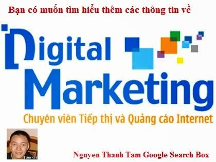 Chuyên viên tiếp thị và quảng cáo Internet Digital Marketing