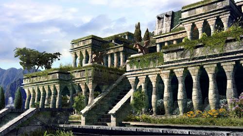 As 7 Maravilhas do Mundo Antigo - 2º Os Jardins Suspensos da Babilônia