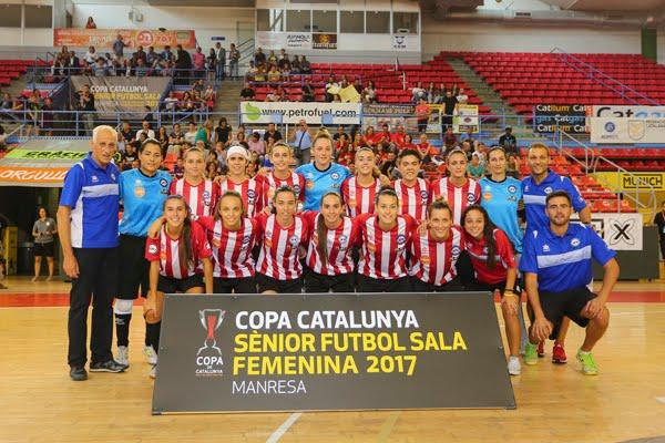 PENYA ESPLUGUES/GIRONELLA  GUANYA LA COPA  2-0