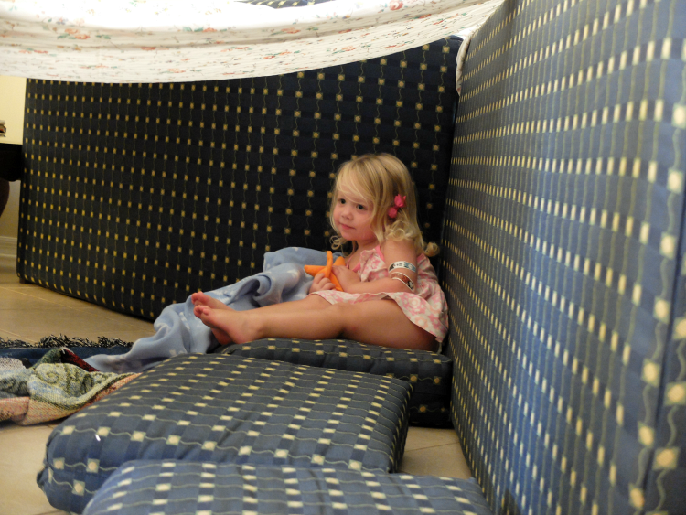 Sweet Turtle Soup - Summer Bucket List: Make a Fort