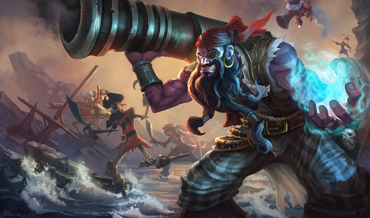 League of Legends: 2012 Limited Edition Halloween Skins: Pirate ...