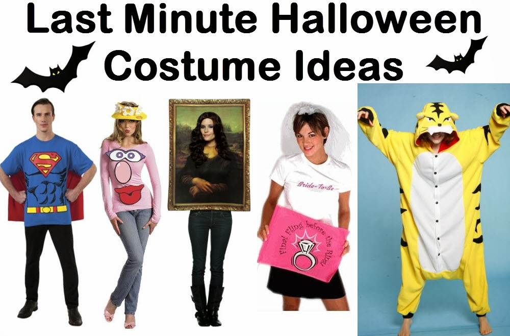 Everything you want to know about fancy dress for Last minute halloween costumes for females