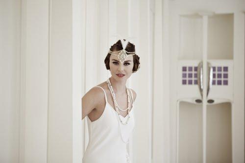 robe de mariée retro vintage années folle années 1920 1930