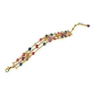 مجوهرات ملونة غاية في الروعة والجمال