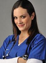"""Connie Chaparro como Teresa """"Tessy"""" Cúneo en la Serie Clave uno: médicos en alerta"""