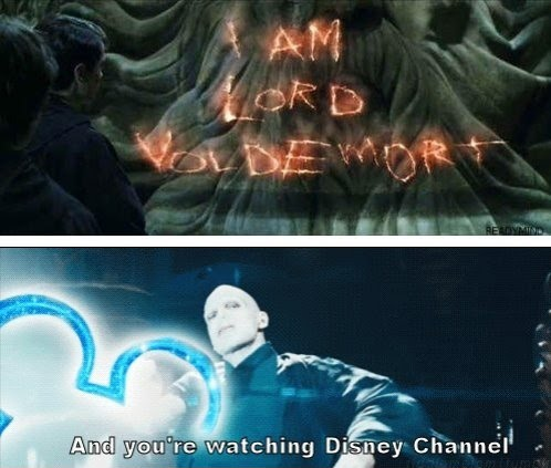 I Am Lord Voldemort - And You're Watching Disney Channel