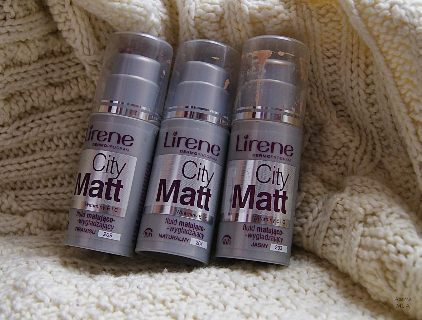 [175.] Lirene City Matt- ulubieniec wśród drogeryjnych podkładów - recenzja.