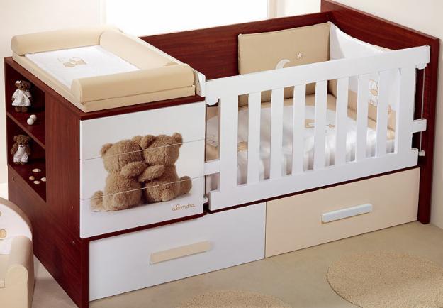 Muebles de madera y decoraci nes ruddy romero espitia - Camas cunas para bebes ...