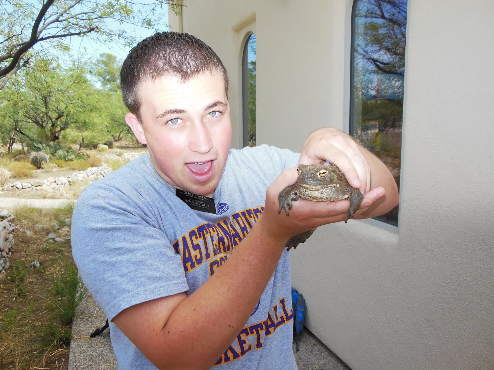 Big toad....not Josh:)