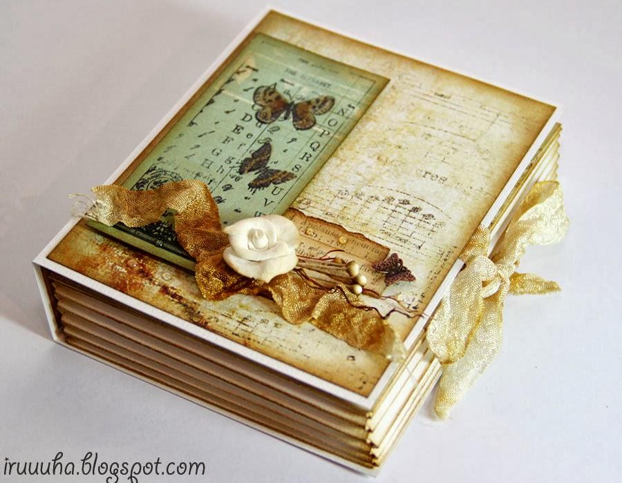 МК коробочка-книжка