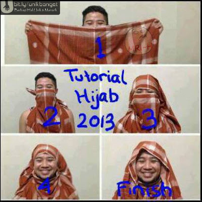 Tutorial Hijab Paris Modern Terbaru - Yube Blog :)