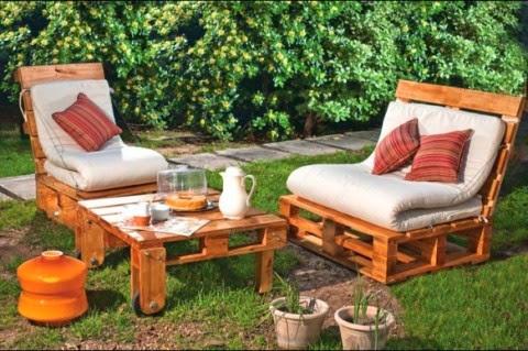 Muebles gratis con palets: camas, sofÁs y zonas de relax